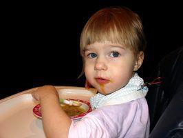 Idéias refeição para uma criança de quatro anos