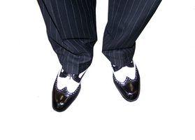 Calçados masculinos na década de 1970
