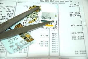 Métodos para destruir cartões de crédito