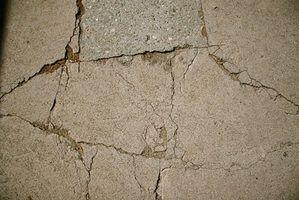 Métodos para reparar fendas no concreto