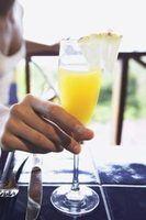 Mimosa ingredientes de bebida