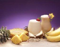 Bebidas misturadas com rum branco
