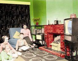 Estilos de casa modernas na década de 1950