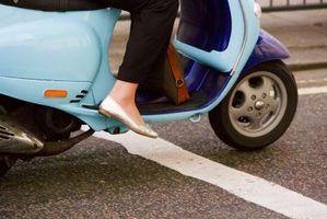 A maioria dos problemas mecânicos comuns com scooters