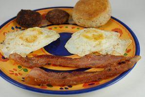 A maioria dos alimentos de pequeno almoço populares