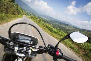 Leis espelho da motocicleta