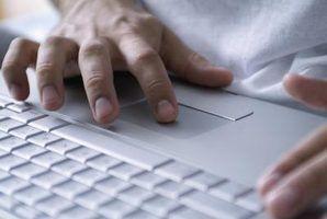 Mouse e touchpad problemas em um laptop