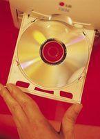 A minha unidade de dvd-rw não vai ler cds em branco
