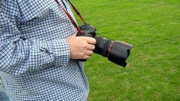 Nomes dos componentes da câmara