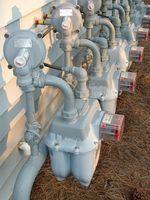 Fatores do medidor de gás natural