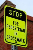 Novas leis faixa de pedestres estado de nova iorque