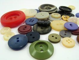 Jogos de botão das crianças antiquados
