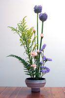 Estilos orientais de arranjos de flores