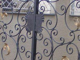 Ferramentas de dobra de ferro ornamentais