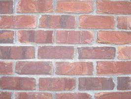 Telhas ao ar livre que se parecem com tijolos