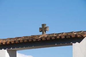 Pinte cores que combinam com um telhado de telha espanhola