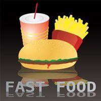 Os requisitos de espaço de estacionamento para fast food