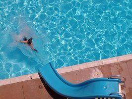 Peças para uma lâmina de água da piscina