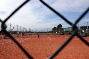 Partes do campo de ténis