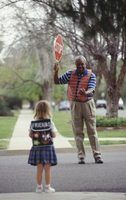 Atividades de segurança de pedestres para as crianças
