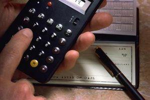 Lista de verificação de orçamento pessoal