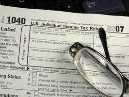 As taxas de imposto de renda pessoal nos estados unidos