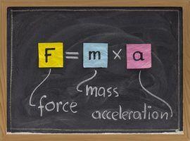 Equações de física para o movimento linear