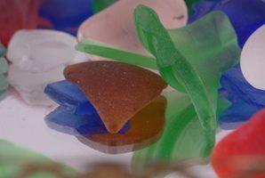 Lugares para recolher o vidro praia em washington