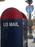 Requisitos de estação de correios para cartas com contas ou ilhós