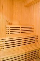 Precauções antes e depois de uma sauna ou banho de vapor