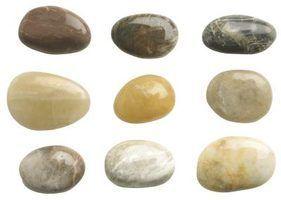 Atividades pré-escolares em rochas e pedras