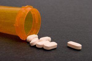 Requisitos de prescrição para classe iv & v drogas