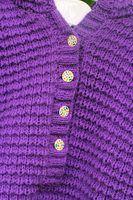 Projetos para blusas de tricô em um tear de inclinação dupla face