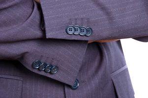 Projetos para ternos masculinos reciclados lã
