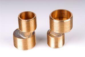 Propriedades do material de bronze vermelho