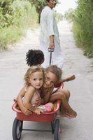 Empurre & puxe actividades para o jardim de infância