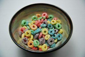 Razões cereal fica encharcado no leite