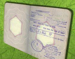 Razões para negar um visto
