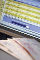 Razões para congelar contas bancárias