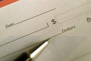 Razões para suspender o pagamento de um cheque