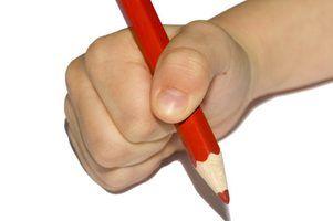 Atividades de arte vermelhos para crianças
