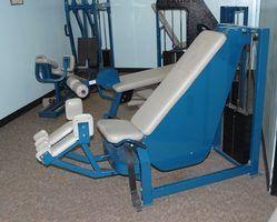Requisitos para o espaçamento de equipamento de treino