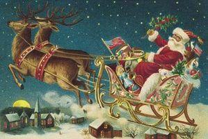 Idéias de decoração de natal retro