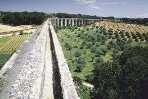 Projetos de ciência aqueduto romano