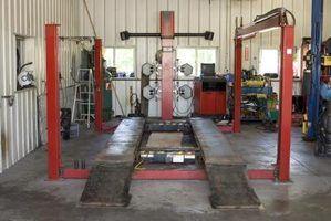 Especificações de instalação rotary elevador
