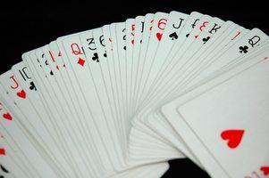 Regras para o jogo de cartas: 25