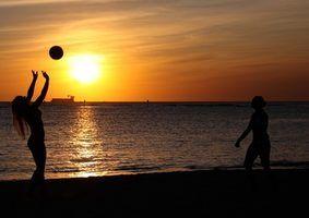 Regras de voleibol para a criação