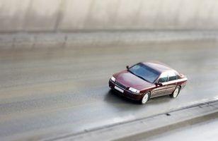 Peças de segurança de um carro
