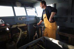 Salário de um capitão de barco de camarão em louisiana