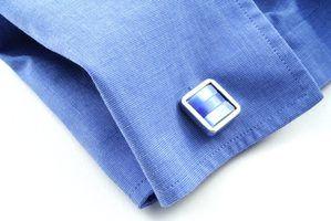 Camisas que exigem abotoaduras
